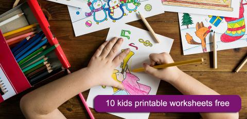 10 Free worksheets