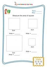 Measure the area of square