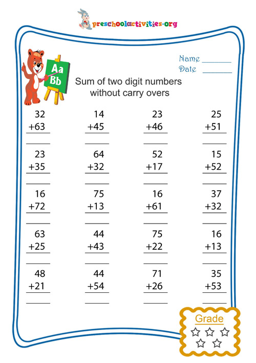 math worksheet : partial sums addition worksheets photo album  worksheet for kids  : Partial Sums Addition Worksheets